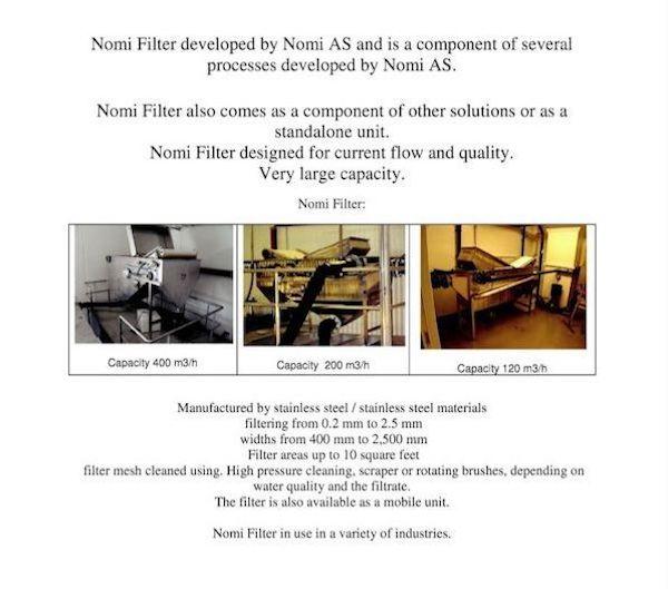 Nomi Filter